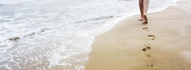 Pasos playa